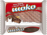 Choco wafer package 240g/24pcs