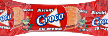 Croco biscuits sandwich cocoa 32g/120pcs