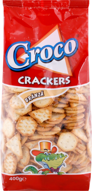 Croco biscuits with cheese /cracker/ 400g/15pcs