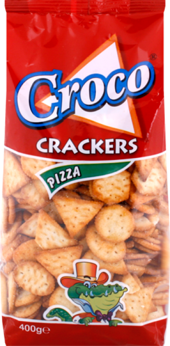 Croco biscuits with pizza /cracker/ 400g/15pcs