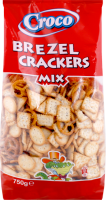 Croco brezel crackers mix 750g/2pcs